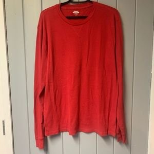 NWOT Old Navy Waffle knit thermal